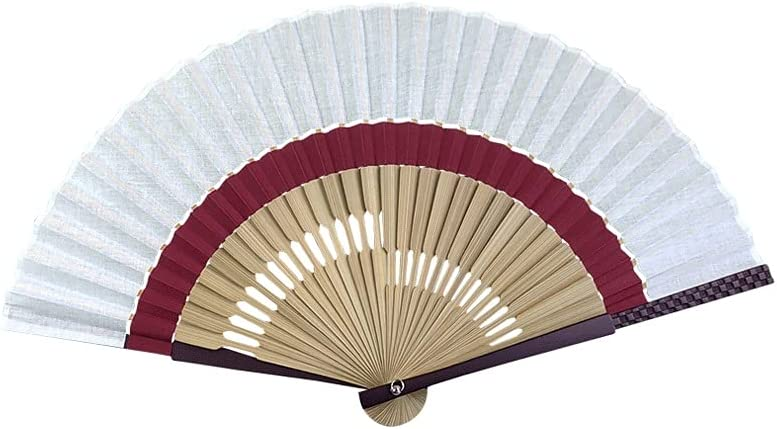 Folding Fan Solid Color Cotton Popularity Hand and Popular standard Summer Linen