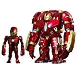Avengers Age of Ultron Artist Mix Bobble Heads Hulkbuster y Battle Damaged Iron Man 20 cm Hot Toys