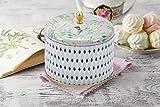 La Jolíe Muse Duftkerze Groß 400g 100% Sojawachs Weißer Tee Kerze in Dose 2 Dochte 80Std Muttertag Geschenk - 6
