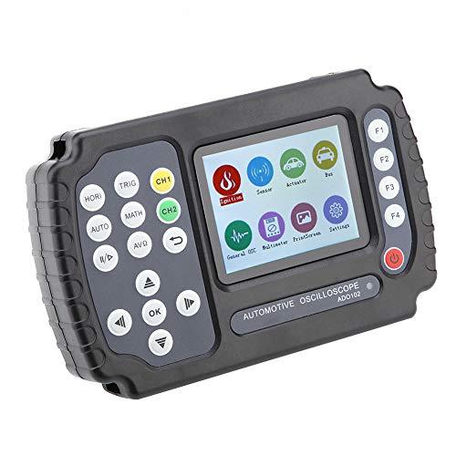 Osciloscopio digital retroiluminación ajustable Osciloscopio automotriz de doble canal analógico para automoción con interfaz USB(European regulations)