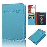 KLUMA パスポートケース ホルダー 高級PUレザー スキミング防止 収納ポケット 航空券 エアチケット 旅券カバー 超便利