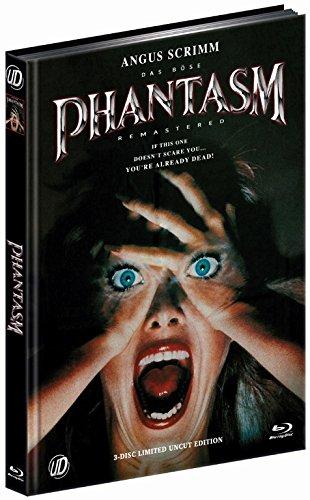 Mediabook PHANTASM - DAS BÖSE 1 Uncut - vom Index befreit !!! BLU-RAY + DVD Limited Edition