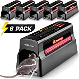 Electronic Humane Rodent Zapper - Effective Mouse Trap Killer for Rats, Mice – No Poison Use - 7000v Shock Instant Exterminator – Safe, Mess-Free & Non-Toxic That Works (New & Upgraded)