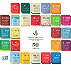 CAFFEINE FREE SAMPLER: All our decaffeinated and herbal teas are of the highest quality. For delicious flavor in every steep, our tea bags are packaged in stay-fresh foil wrappers, from morning breakfast blend to bedtime chamomile 50 COUNT: Choose fr...