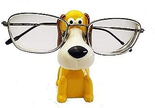 Wendin Standish Dog Resin Eyeglass Holder,Animal Spectacle Holder Eyeglass Display Stand Sunglasses Holder Home Decoration