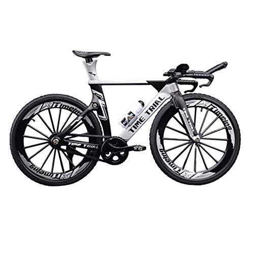 GCDN 1:10 aleación de Zinc Modelo de Bicicleta decoración de Escritorio Adornos simulación Carreras Bicicleta Bicicleta de montaña Mini Bicicleta Modelo Juguete Manualidades Decorativas para el hogar