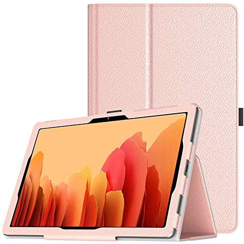 TiMOVO Case for All-New Samsung Galaxy Tab A7 10.4' 2020 Release, Premium Slim PU Leather Shell Folio Case Stand Cover Fit Galaxy Tab A7 Tablet (10.4-Inch, SM-T500/T505/T505N/T507), Rose Gold