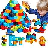 WYSWYG Grandes Bloques de Construcción para Niños , 240 Piezas Classic Ladrillos Grandes , Compatible con Todas Las Grandes Marcas Duplo, Niños y Niñas 2 3 4 5 años