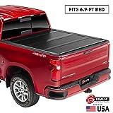 BAK BAKFlip F1 Hard Folding Truck Bed Tonneau Cover | 772330 | Fits 2017-20 Ford Super Duty 6'9' Bed