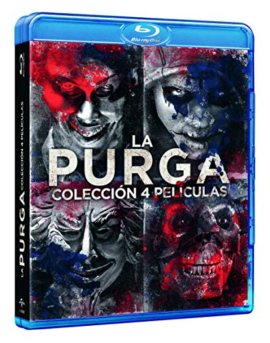 Pack: La Purga -  1-4 [Blu-ray]