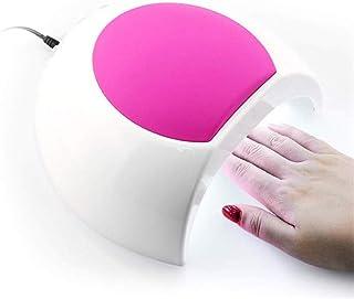 GFYWZZ 48W UV LED Lámpara Secador de uñas Máquina de curado en Gel Profesional para uñas de los pies con 4 ajustes de Temporizador 10s, 30s, 60s, 90s, con Sensor automático