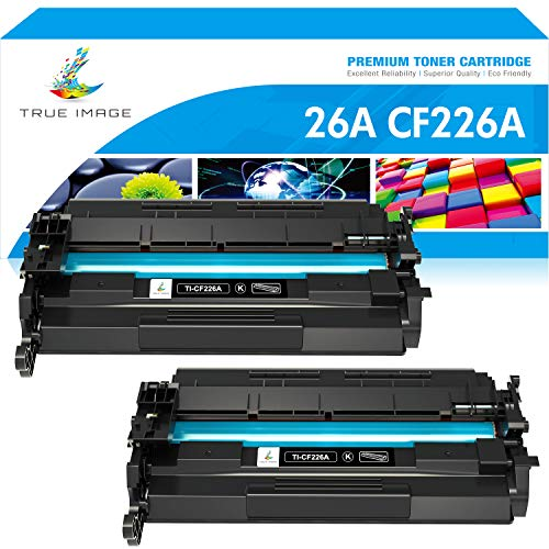 True Image Kompatibel Tonerpatrone Replacement für HP 26A CF226A 26X CF226X Toner für HP Laserjet Pro M402dne M402d M402dn M402n M402dw M402 Toner HP Laserjet Pro MFP M426fdw M426dw M426fdn M426