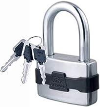 WXYZ Keyed Padlocks Stalen Hangslot Met 3 Sleutels, Met Waterdichte En Stofdichte Dekking, Gebruikt For Locker Magazijncon...