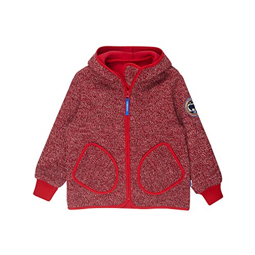 Finkid Tonttu Wind Kinder Wollstrick Fleecejacke + Zip In Innenjacke