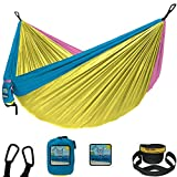 Wise Owl Outfitters Hammock Camping Double & Single with Tree Straps - USA Based Hammocks Brand Gear, Indoor Outdoor Backpacking Survival & Travel, Portable DOEnd
