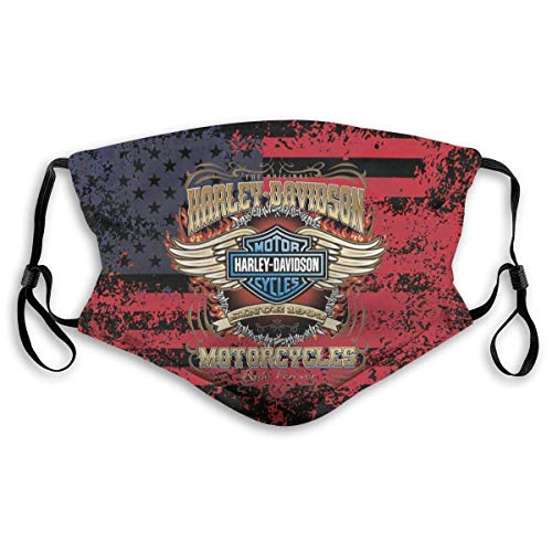 Mundschutz Harleys-Davidsons Face Cover Mouth Cover Head Scarf Outdoor Seamless Reusable