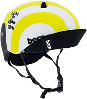 【BERN】バーン NINO RYUJI KAMIYAMA ニーノ カミヤマ リュウジ キッズ ボーイズ ジュニア ヘルメット 保護 耳あてなし スケート スノー 自転車 男の子向け XS/S S/M 3カラー