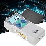 Medidor de fuerza digital, SF-500 Probador de presión de empuje y empuje portátil Dinamómetro Instrumentos de medición de alta precisión Medidor de empuje 500N 100-240V(UE)