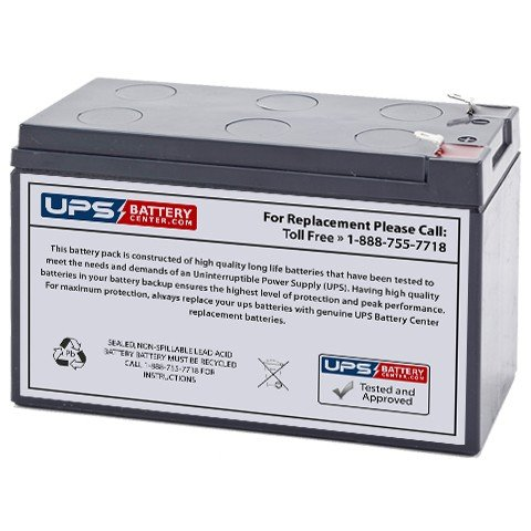 Werker WKA12-8F 12V 8Ah F1 Compatible Replacement Battery - Battery for Alarm Systems