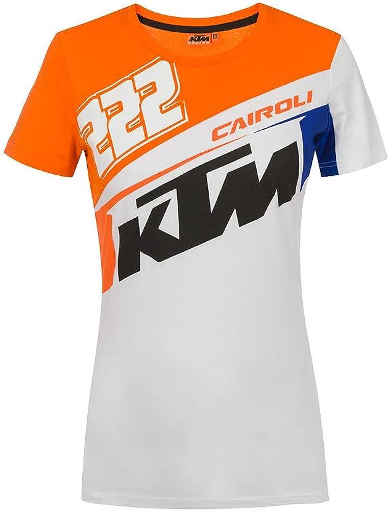 Valentino Rossi Damen Cairoli Ktm T Shirt Bekleidung