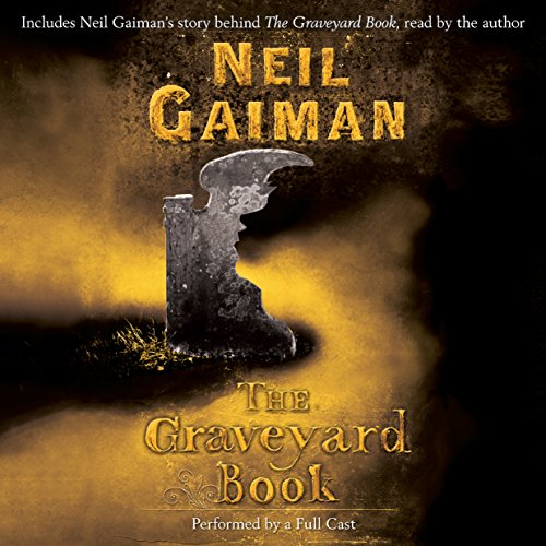 The Graveyard Book: Full-Cast Production                   Written by:                                                                                                                                 Neil Gaiman                               Narrated by:                                                                                                                                 Neil Gaiman,                                                                                        Derek Jacobi,                                                                                        Robert Madge,                   and others                 Length: 8 hrs and 24 mins     133 ratings     Overall 4.8