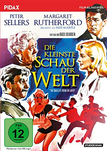 Die kleinste Schau der Welt (The Smallest Show on Earth) / Grandiose Komödie mit Peter Sellers und Margaret Rutherford (bek. als MISS MARPLE) (Pidax Film-Klassiker)