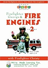 Firefighter George & Fire Engines, Fire Trucks, and Fire Safety, Volume 2