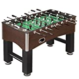 Hathaway 56-Inch Primo Foosball Table, Family Soccer Game with Wood Grain Finish, Analog Scoring and Free...