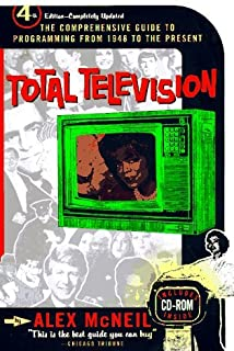 Total Television Book and CD-ROM by McNeil Alex (1997-10-01) Paperback