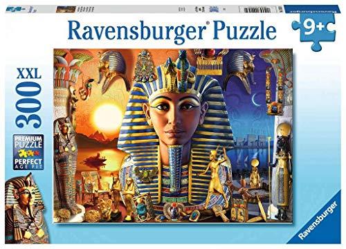 Ravensburger Puzzle 12953 in het oude Egypte Ravensburger Kinderpuzzle 12953-Im Alten Ägypten 300 Teile XXL-Puzzle für Kinder ab 9 Jahren, Paars