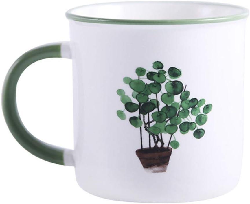 Coffee Mugs Set - Credence Max 78% OFF 11.5 Oz Leaf with 2 Pattern of Mug