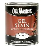 Old Masters #80701 Gel Stain ~ Dark Walnut ~ Gallon