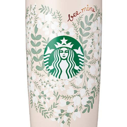 Starbucksスターバックス2021バレンタインSSステンレスハニーMiiRミアータンブラーSSHoneyMiiRtumbler591ml海外限定品日本未発売スタバタンブラー