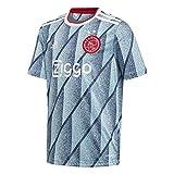 adidas AJAX FC FC Segunda Equipación 2020-2021 Niño, Camiseta, Icey Blue, Talla 140 [cm]