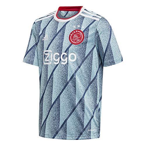 adidas Ajax Amsterdam Saison 2020/21 Ajax A JSY Y Auswärtstrikot Kinder, Jungen, FI4792, Azuhie, 128