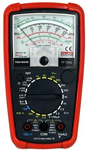 Tekpower 7-Function 20-Range Analog Multimeter, TP7244