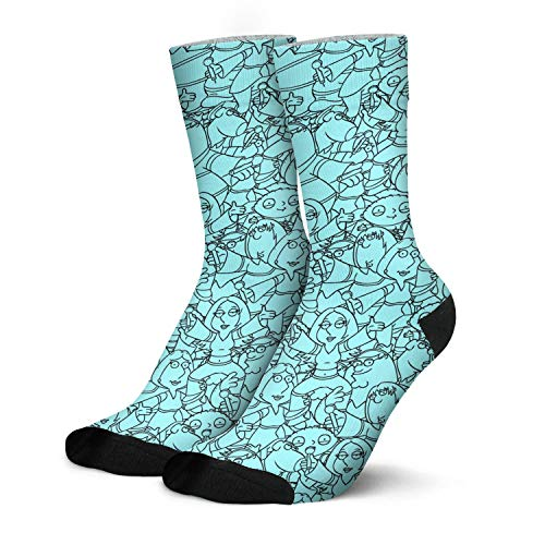 Men's High Cut Socks Peter-Griffin-family-father-Former-safety-inspector- Moisture Wicking Socks