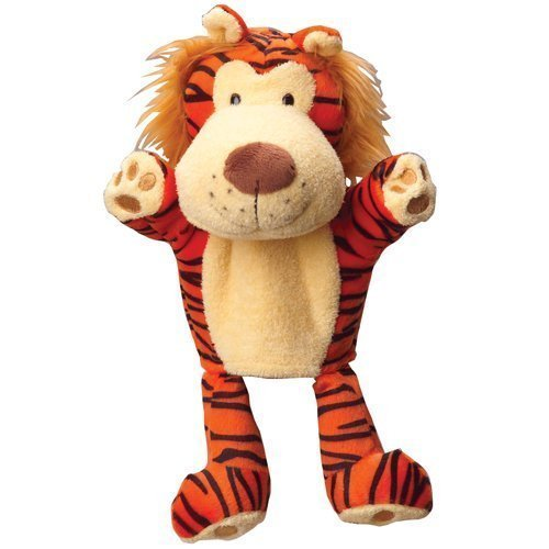Constructive Playthings CP Toys Forest Friends Plush Hand Puppet Tiger