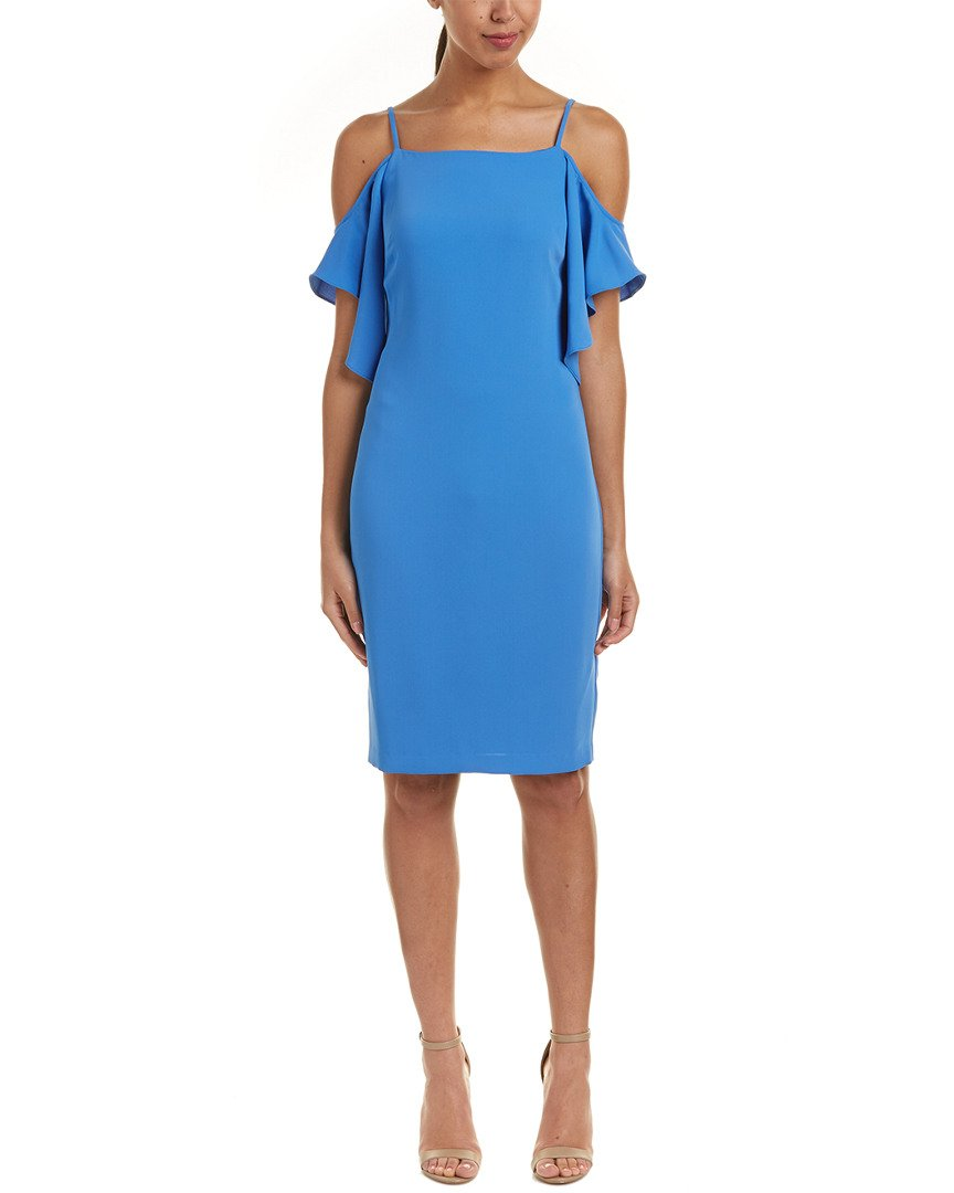 Available at Amazon: Laundry by Shelli Segal Women's Off The Shoulder Cocktail Dress with Flutter Sleeve