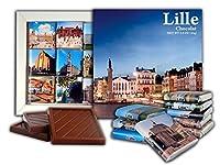DA CHOCOLATEキャンディスーベニア LILLE チョコレートギフトセット13x13cm 1箱 (夜)