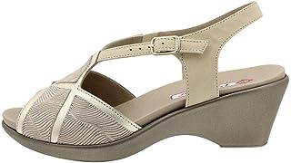 4be7ec33 Zapato Cómodo Mujer Sandalia Plantilla Extraíble 190857 PieSanto