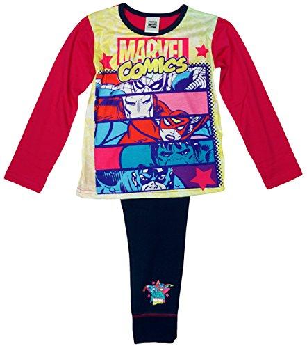 The Avengers - Pijama - Manga Larga - para niña Rosa Rosa 4