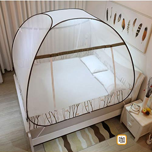 Affordable Folding Pop Up Mosquito Net Tent Canopy Curtains with Full Bottom Anti Mosquito Bites for...