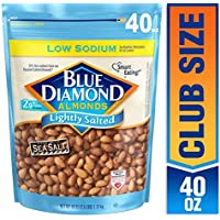 Blue Diamond Almonds Low Sodium Lightly Salted (40 Ounce)