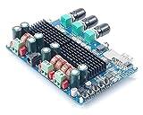 ARCELI TPA3116 50W2 + 100W 2.1 Tarjeta de Receptor de Bluetooth del Vehículo Amplificador de Potencia de Dos CanalesChannel Subwoofer Digital Tarjeta de Amplificador de Potencia DC12V-26V