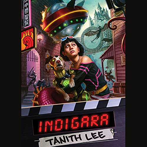 Indigara audiobook cover art