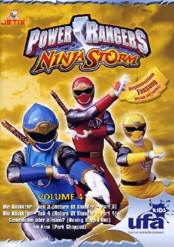 Power Rangers - Ninja Storm Vol. 4