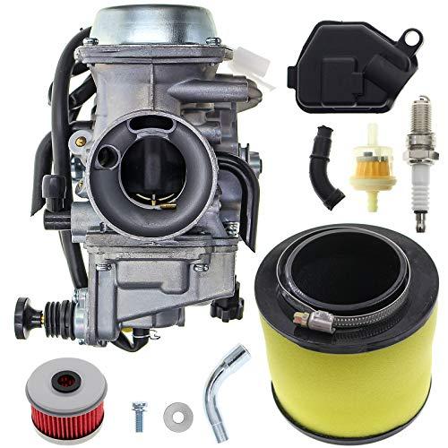 MOTOALL New TRX350 Carburetor for Honda Rancher 350 TRX350 350ES 350FE 350FMTE 350TM 2000-2006 Carb