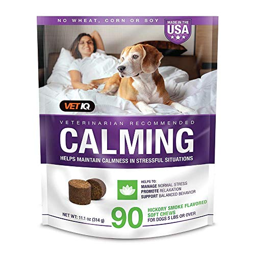 VETIQ Calming Aid Anxiety Supplement for Dogs, Chews 90ct, 11.1 oz