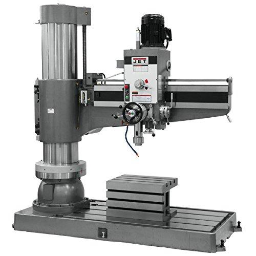 JET Radial Arm Drill Press - 12-Speed, 60in. 7.5 HP, 230 Volt, Model Number J-1600R